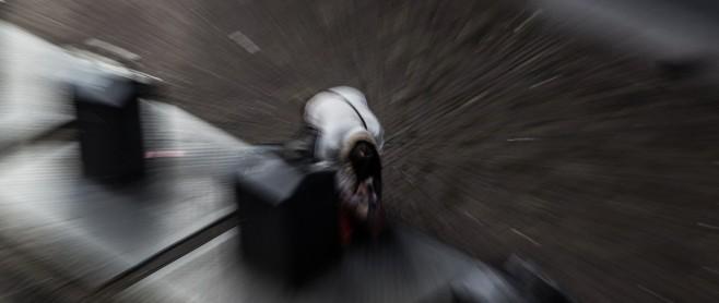 personal injury law man falling blur